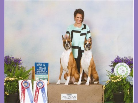 May 2015 -- ABC -- Parade of Champions - Millee & Mina