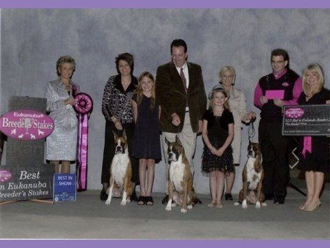 July 2011 - AKC/Eukanuba - San Antonio Breeder's Stakes - Best In Stakes
